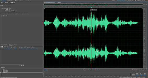 correction numérisation audio adobe audition