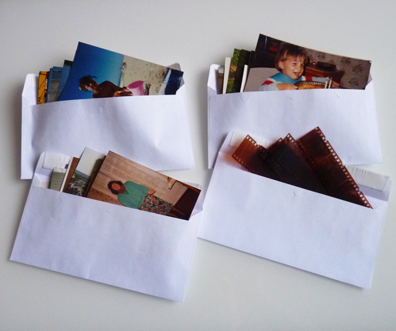 tri des photos papier
